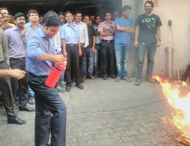 Fire Drill for Office Staffs