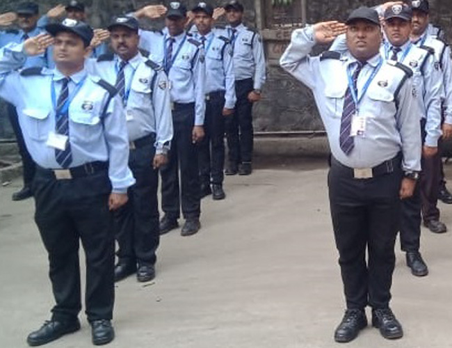 Physical Training of Security Guards
