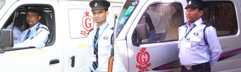 Armed Guard with Cash Van in Mumbai