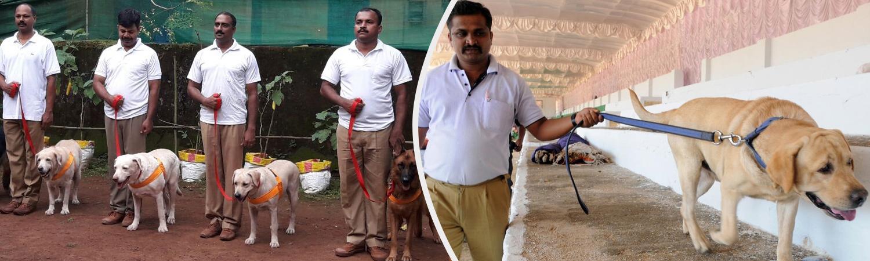 Dog Squad in Mumbai with handler